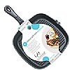 Kitchencraft Cast Iron Grill Pan Square