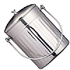 Kitchencraft Stainless Steel Compost Bin