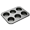 Bakeware Large 6 Hole Muffin Pan