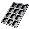 Bakeware 12 Hole Square Brownie Tin