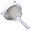 This category contains: Kitchencraft Round Sieve, Kitchencraft Pan Strainer, Kitchencraft Flour Sifter,