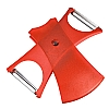 Peelers Design Line Peeler 2in1 Red