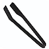 Black Silicone Cooks' Tools Silicone Chefs Tongs