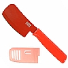 Colori 1 Red Mini Cleaver Prep Knife