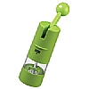 Spice Mill Ratchet Grinder Green