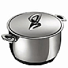 Durotherm Chrome Stew Pot