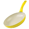 Colori Cucina Induction Frying Pan Yellow