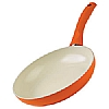 Colori Cucina Induction Frying Pan Orange