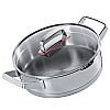 This category contains: Modern Buffet Pan, Cookability Stainless Balti Dish, M'heritage Round Pan,