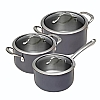 This category contains: Daily Cookware Set 16,18,20cm, Vista Pan Set, Colori Anthracite Cookware Set 16,20,24cm,