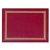 Melamine Placemat Red