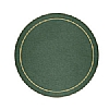 Melamine Tablemat Round Green