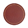 Melamine Tablemat Round Red