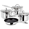 Stellar 7000 Four Piece SaucePan Set