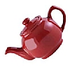 Price and Kensington Red Teapot