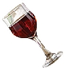 Tulip Red Wine Glasses
