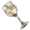 Tulip White Wine Glasses