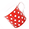 Fine Bone China Red Polka Dot Mug