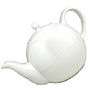 London Pottery White Teapot